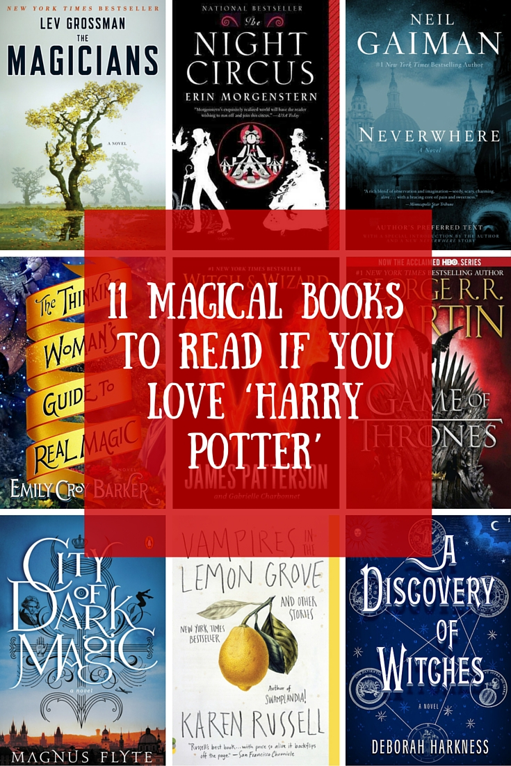 11 Magical Books to Read If You Love 'Harry Potter'